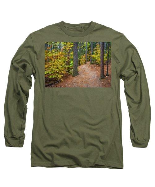 Autumn Fall Foliage In New England Long Sleeve T-Shirt