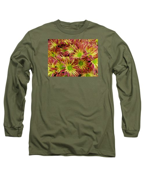Long Sleeve T-Shirt featuring the photograph Autumn Flowers by Lyric Lucas