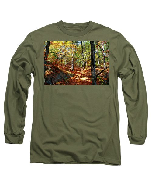 Autumn Forest Killarney Long Sleeve T-Shirt by Debbie Oppermann