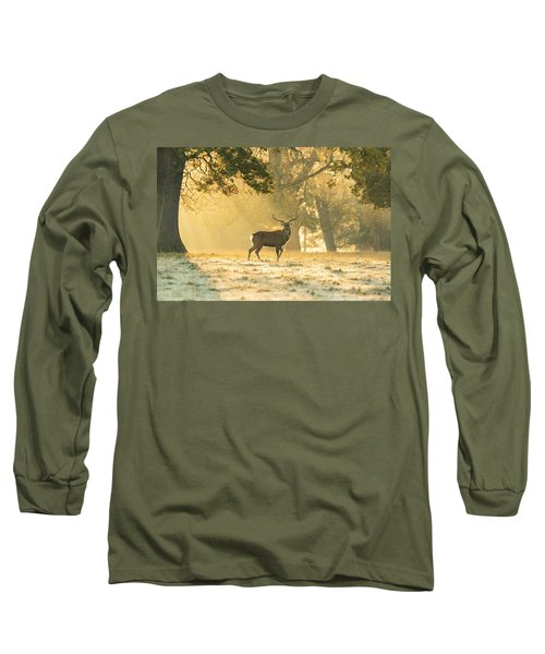 Long Sleeve T-Shirt featuring the photograph Autumn Frost by Scott Carruthers