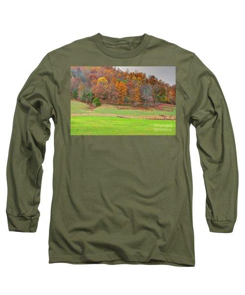 Autumn Hillside Long Sleeve T-Shirt