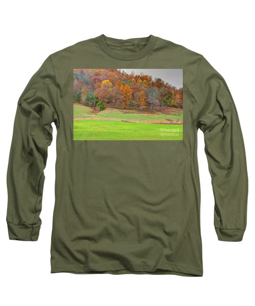 Autumn Hillside Long Sleeve T-Shirt
