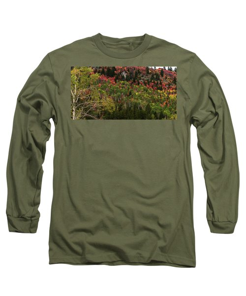 Autumn In Idaho Long Sleeve T-Shirt