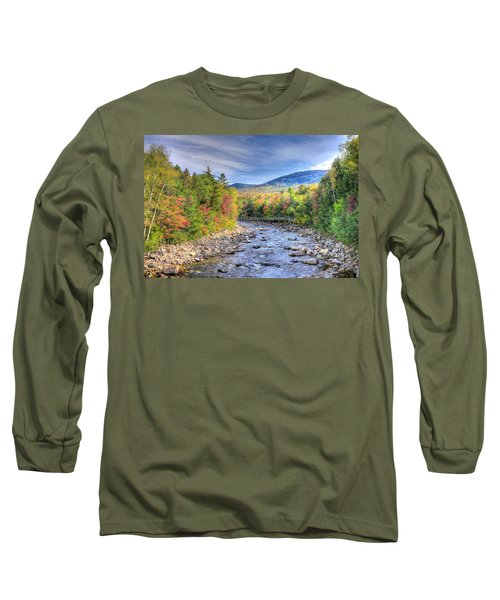 Autumn In New Hampshire Long Sleeve T-Shirt