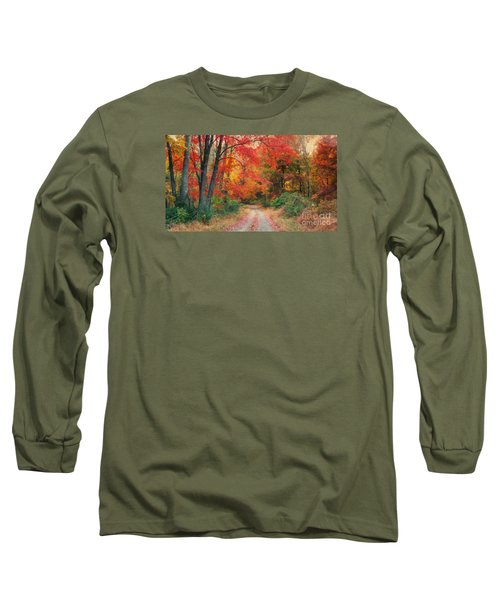 Autumn In New Jersey Long Sleeve T-Shirt