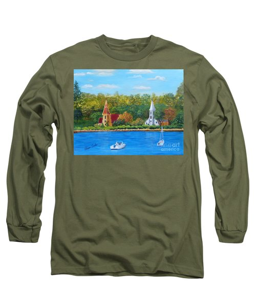 Autumn In Nova Scotia Long Sleeve T-Shirt