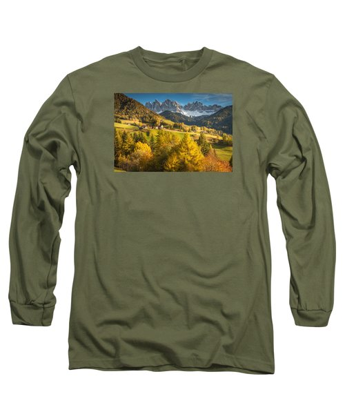 Autumn In The Alps Long Sleeve T-Shirt