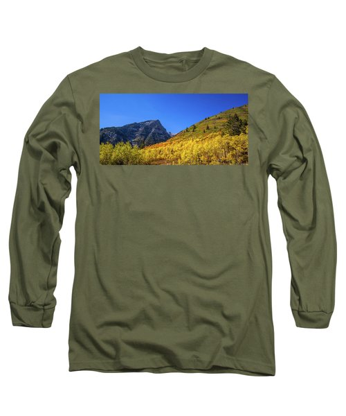 Autumn In The Rockies Long Sleeve T-Shirt
