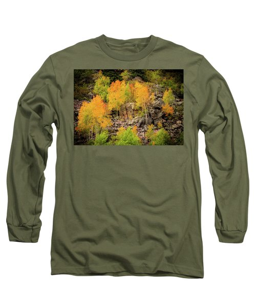 Autumn In The Uinta Mountains Long Sleeve T-Shirt