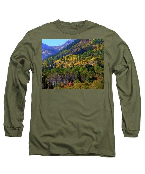 Autumn In Utah Long Sleeve T-Shirt