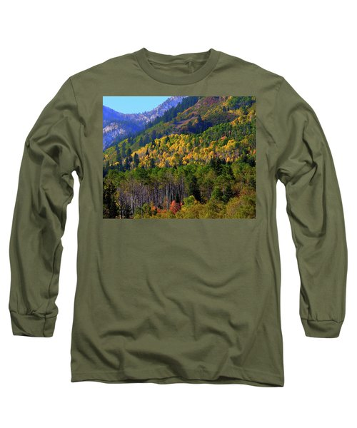 Autumn In Utah Long Sleeve T-Shirt