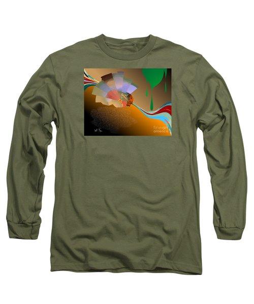 Long Sleeve T-Shirt featuring the digital art Autumn by Leo Symon