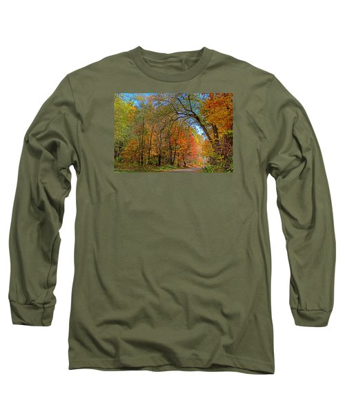 Long Sleeve T-Shirt featuring the photograph Autumn Light by Rodney Campbell