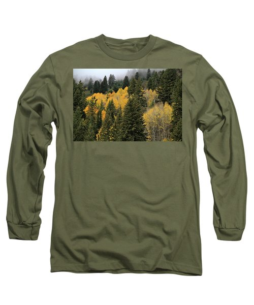 Autumn Mist, Owyhee Mountains Long Sleeve T-Shirt