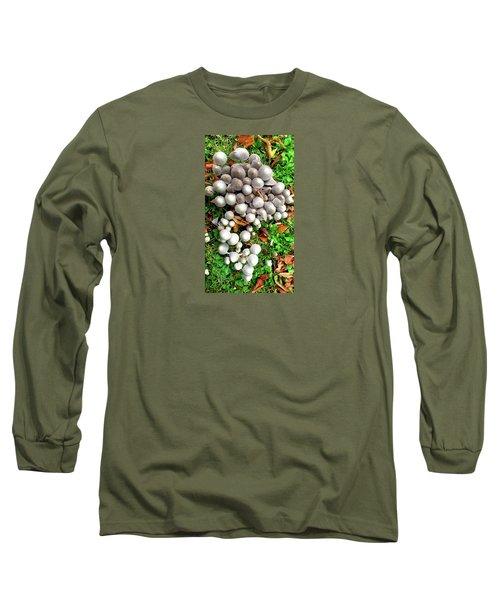 Autumn Mushrooms Long Sleeve T-Shirt