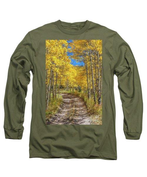 Autumn On Medano Pass Long Sleeve T-Shirt