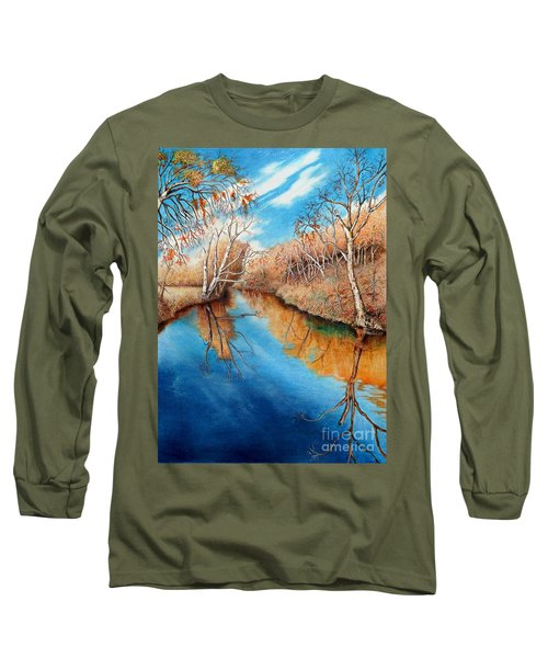 Autumn On The Elkhorn Long Sleeve T-Shirt
