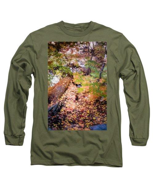 Autumn On The Mountain Long Sleeve T-Shirt
