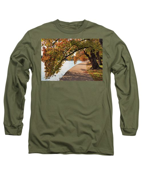 Autumn On The Tidal Basin Long Sleeve T-Shirt