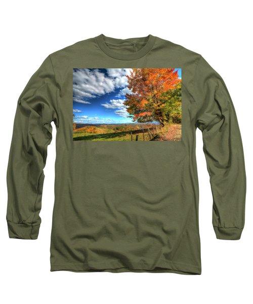 Autumn On The Windfall Long Sleeve T-Shirt