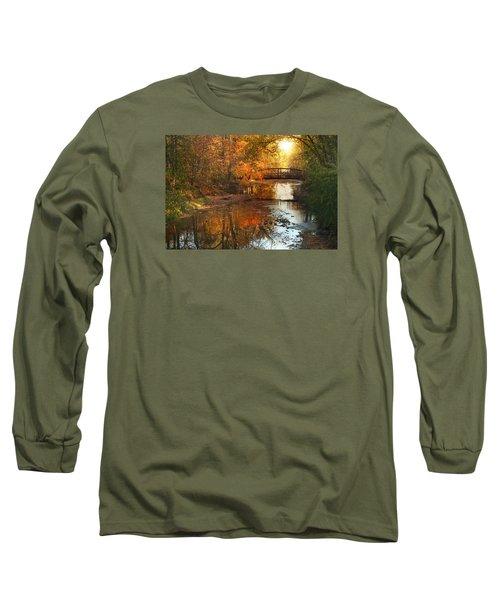 Autumn Over Furnace Run Long Sleeve T-Shirt by Rob Blair