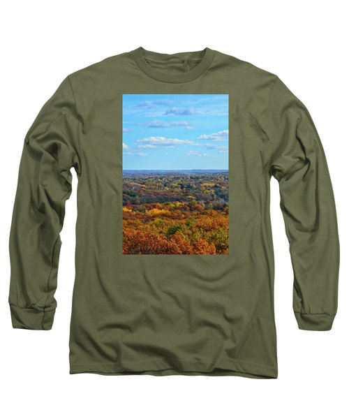 Autumn Overlook Long Sleeve T-Shirt by Nikki McInnes
