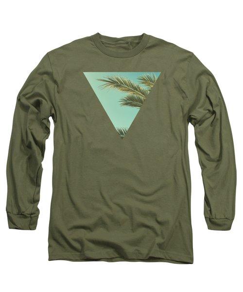 Autumn Palms II Long Sleeve T-Shirt