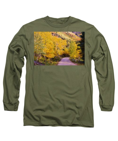 Long Sleeve T-Shirt featuring the photograph Autumn Passage by Lana Trussell