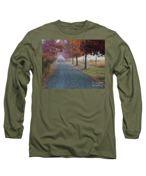 Autumn Portal Long Sleeve T-Shirt