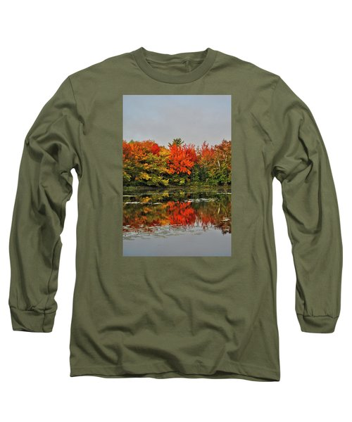 Long Sleeve T-Shirt featuring the photograph Autumn Portrait by Kathleen Sartoris