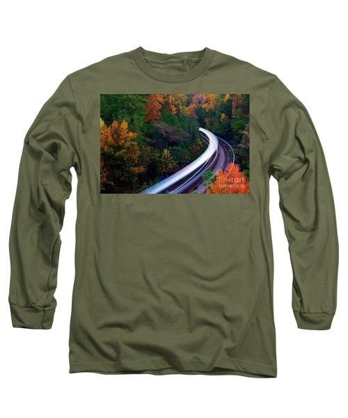 Autumn Rails Long Sleeve T-Shirt