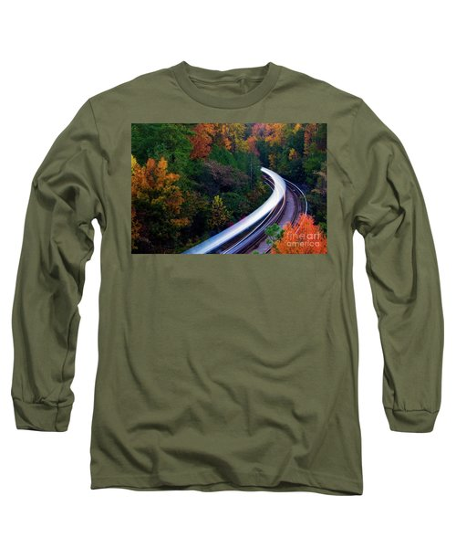 Autumn Rails Long Sleeve T-Shirt