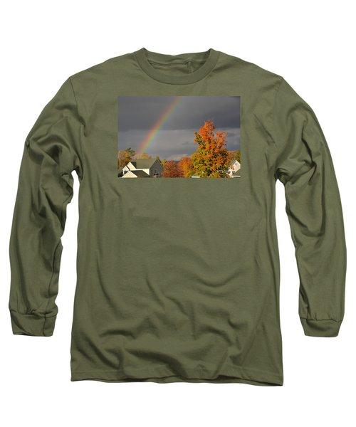 Autumn Rainbow Long Sleeve T-Shirt