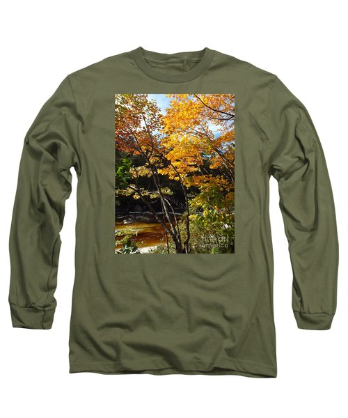 Autumn River Long Sleeve T-Shirt