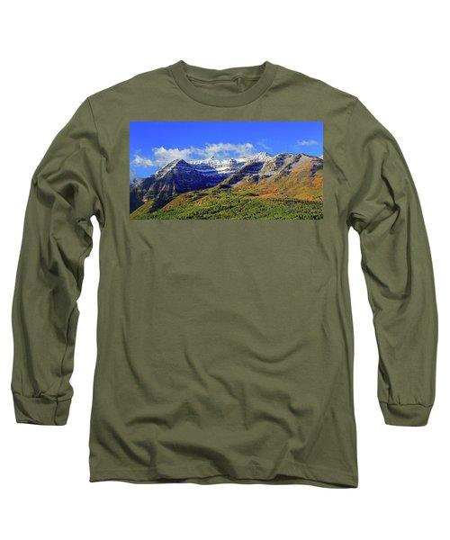 Autumn Snow On Timp Long Sleeve T-Shirt