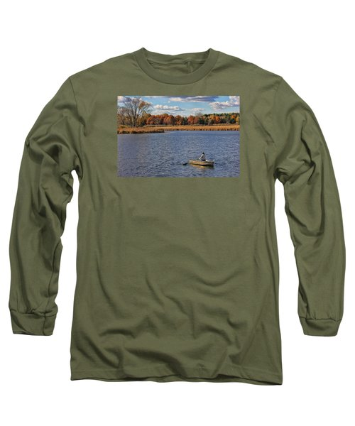 Autumn Solitude Long Sleeve T-Shirt by Pat Cook