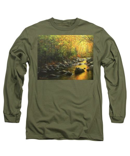 Autumn Stream Long Sleeve T-Shirt