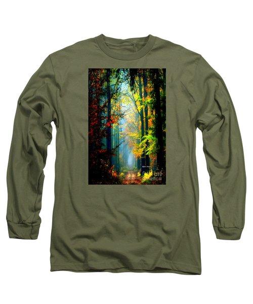 Autumn Trails In Georgia Long Sleeve T-Shirt