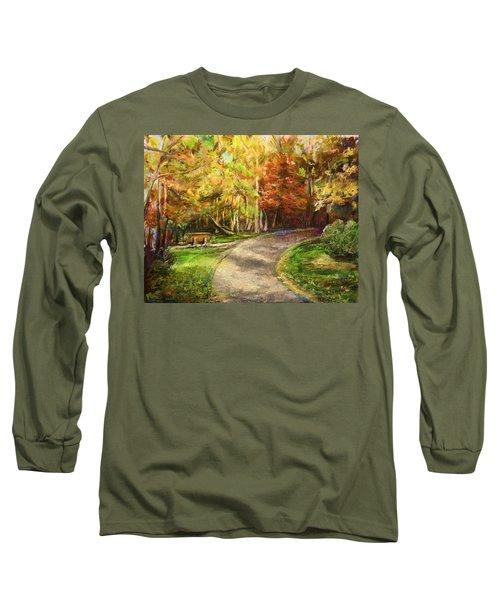 Autumn Walk Long Sleeve T-Shirt