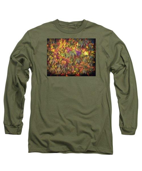 Autumnal Leaves Long Sleeve T-Shirt