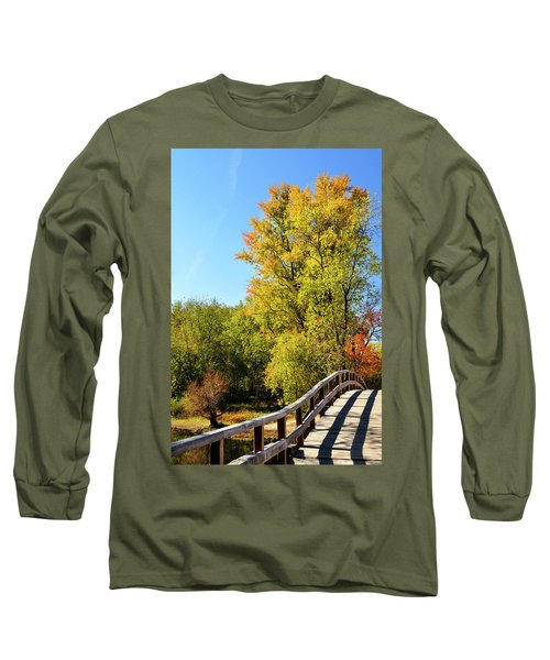 Autumnal North Bridge Long Sleeve T-Shirt