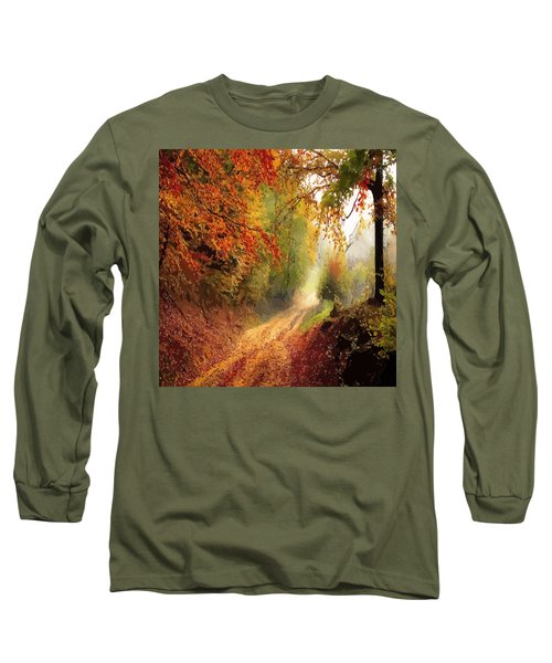 Autumnal Pathway Long Sleeve T-Shirt