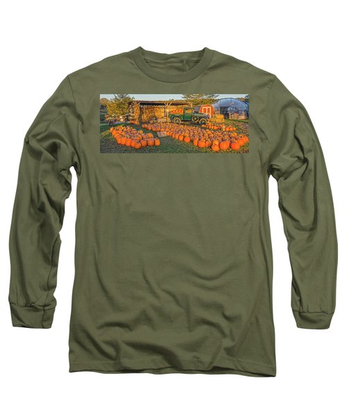 Autumnal Sunrise At Roe's Long Sleeve T-Shirt