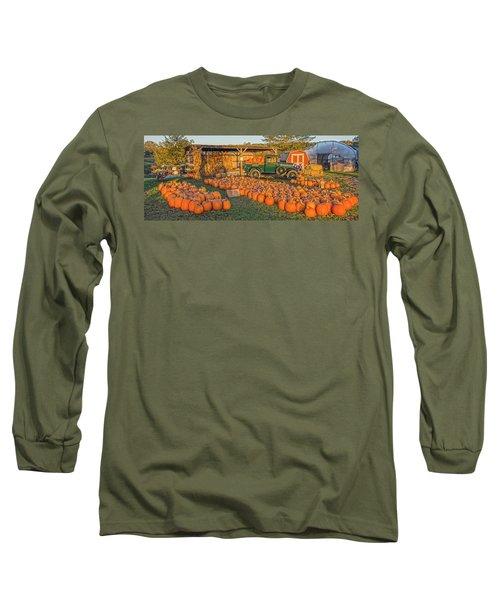 Autumnal Sunrise At Roe's Long Sleeve T-Shirt