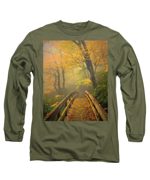 Autumn's Bridge To Heaven Long Sleeve T-Shirt