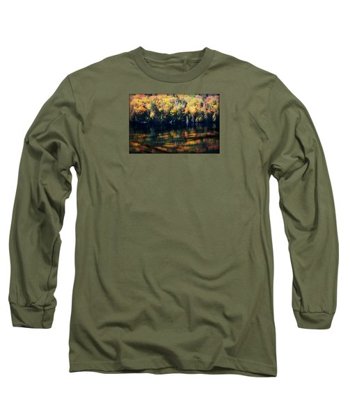 Autumn's Masterpiece Long Sleeve T-Shirt by Robin Regan