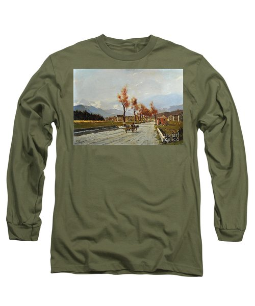 Avellino's Landscape  Long Sleeve T-Shirt