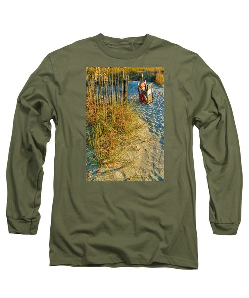 Awaiting Relaxation Long Sleeve T-Shirt