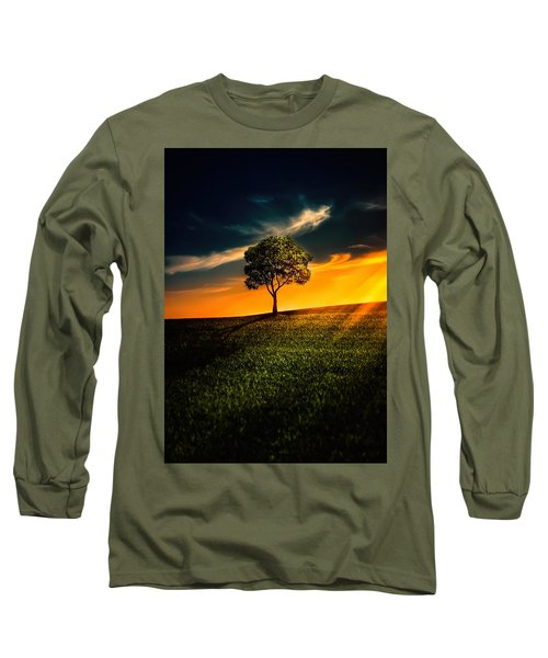 Awesome Solitude II Long Sleeve T-Shirt