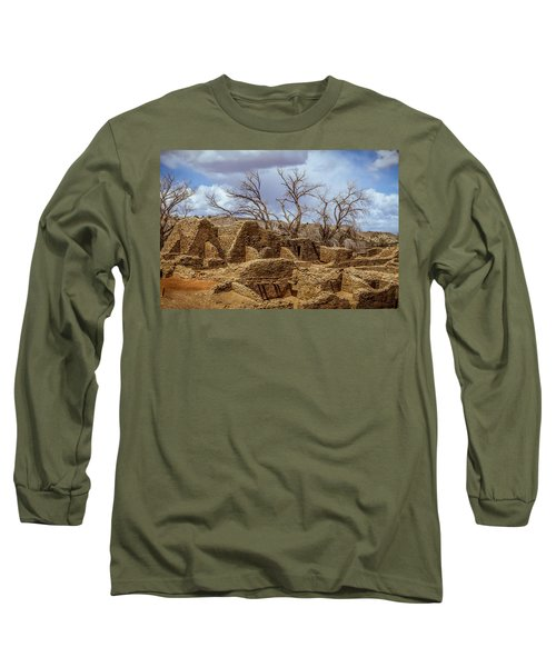 Aztec Ruins, New Mexico Long Sleeve T-Shirt